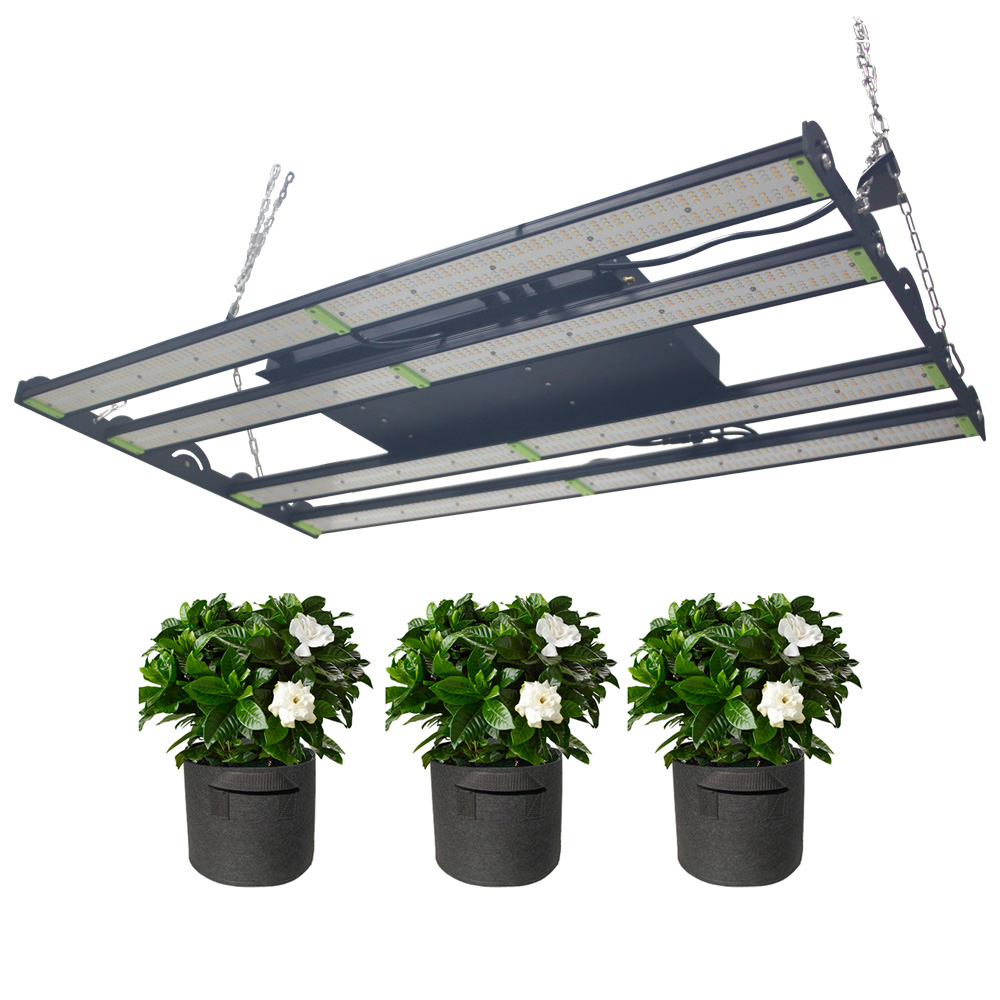Remote control aglare full spectrum 600w led grow light