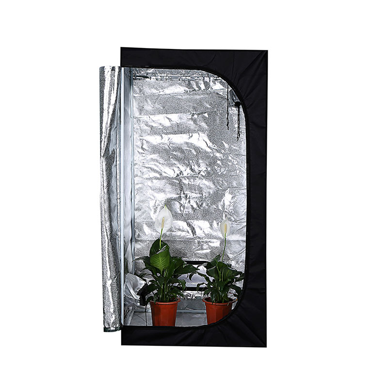 24* 24* 56 INCH Grow Tent,  Black Waterproof Smart  600D 1680D
