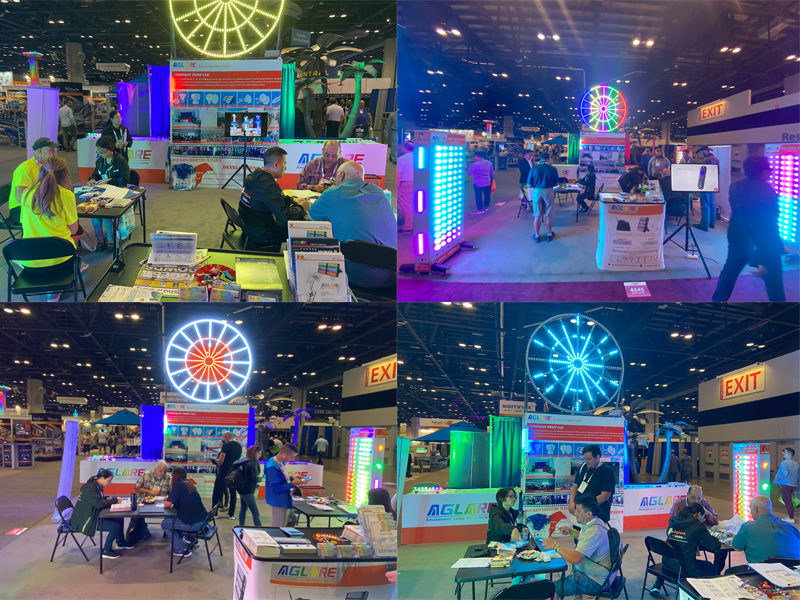 Took park in in the IAAPA USA Exhibition and achieved great success.