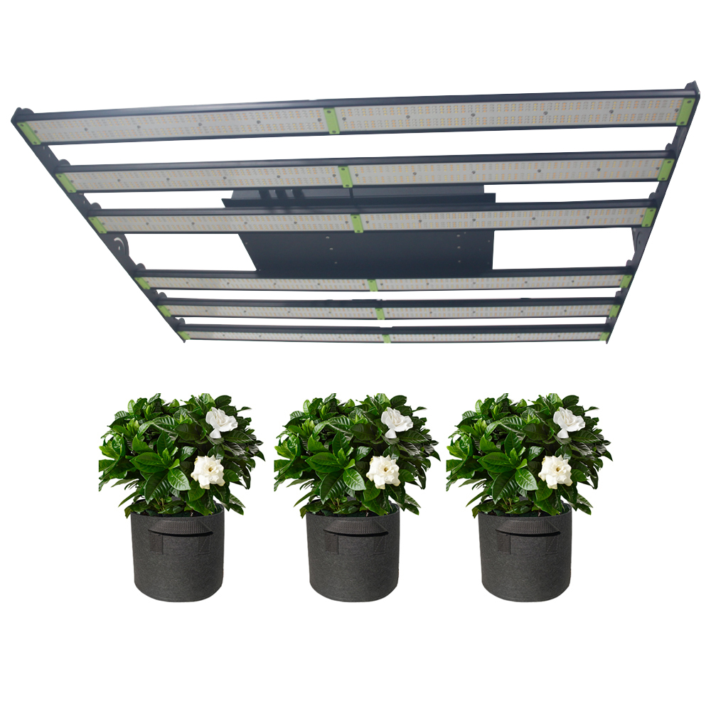Dimmable hydroponic led grow light, 900w full spectrum plant lamp